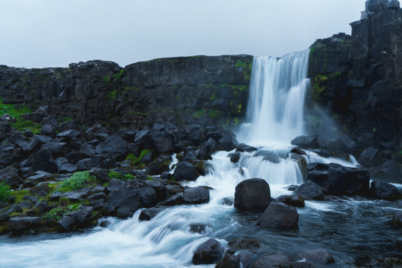 Öxararfoss in Thingvellir national park