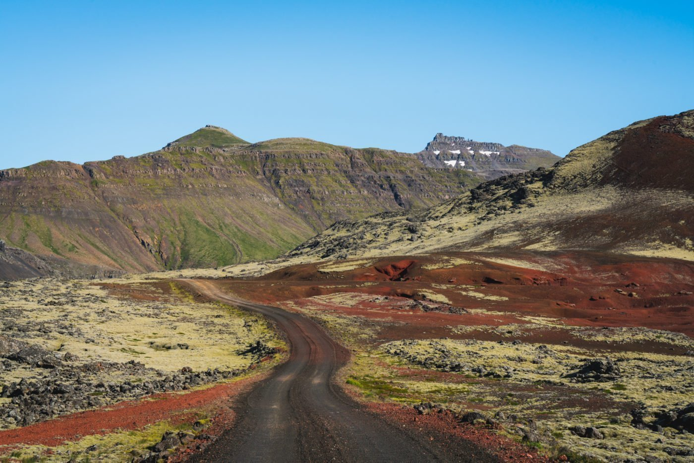 One of Iceland's tricky F-roads