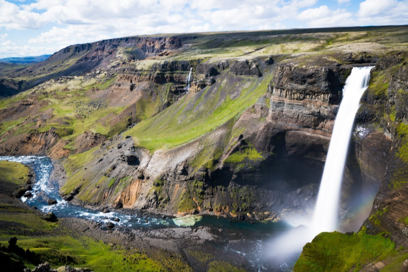 haifoss, a hidden gem in Iceland