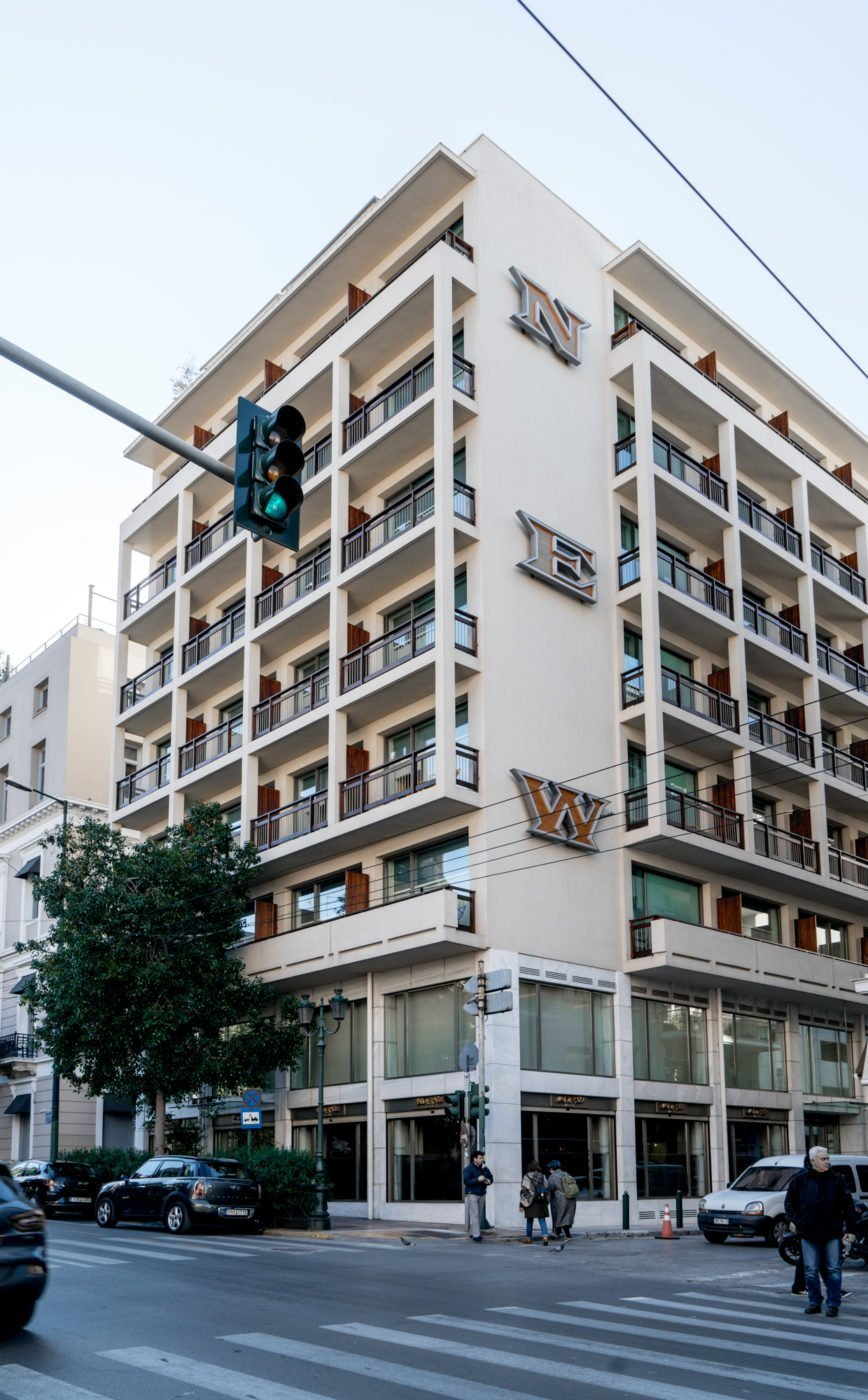 Street view of NEW Hotel Athens