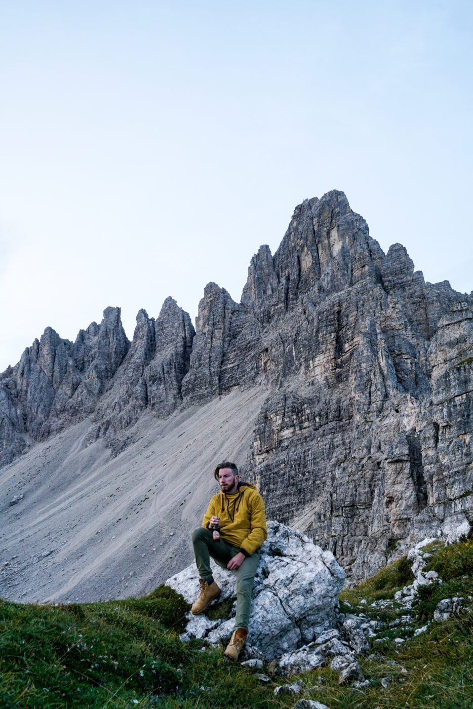 Famous Instagram spot in the Dolomites