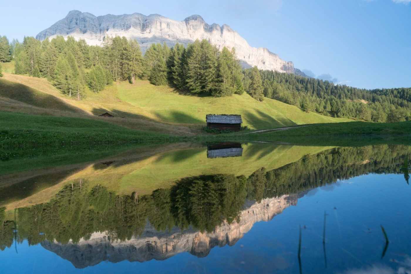 Armentara, famous Instagram location in South Tyrol