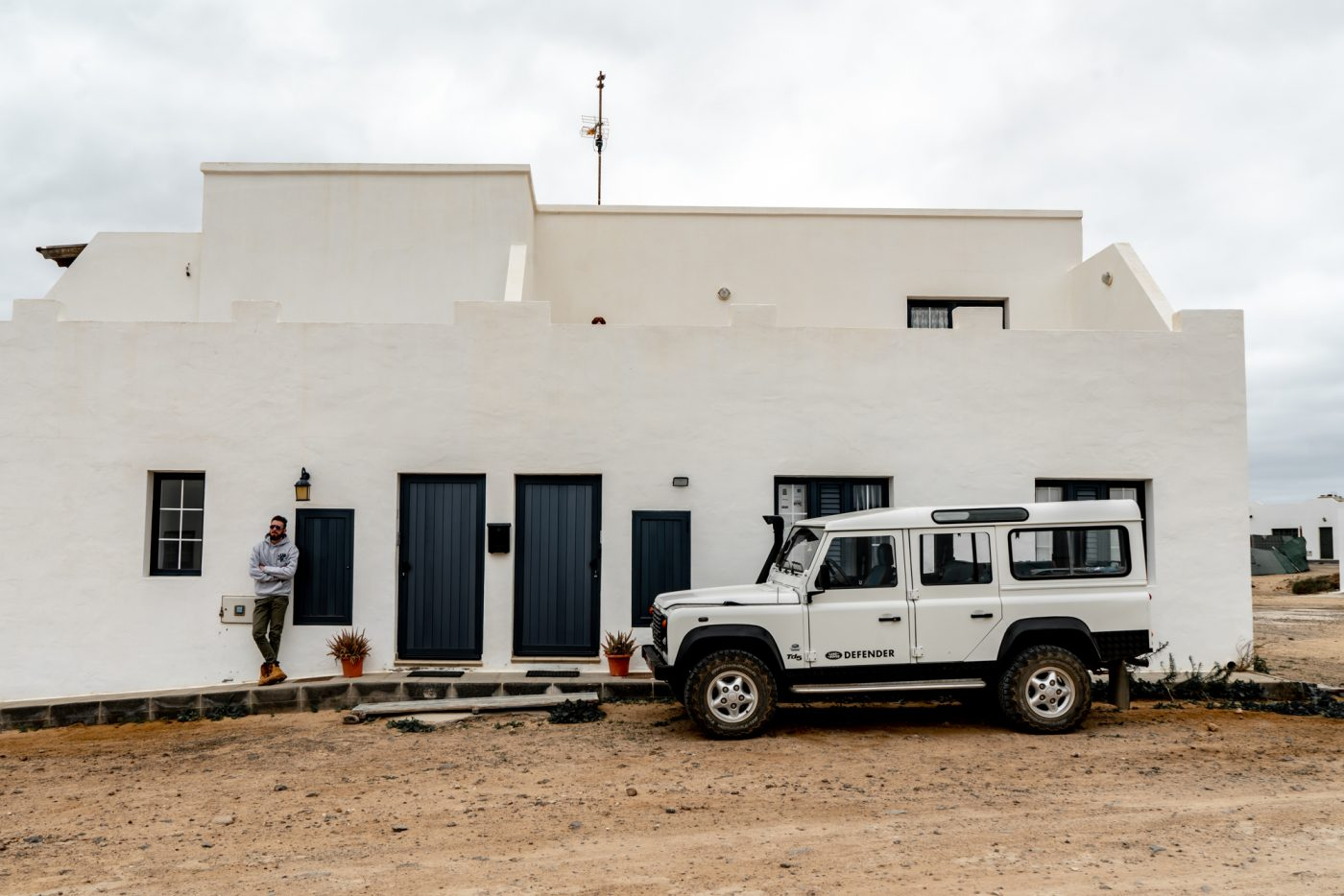Take the ferry to visit La Graciosa, Caleta del Sebo