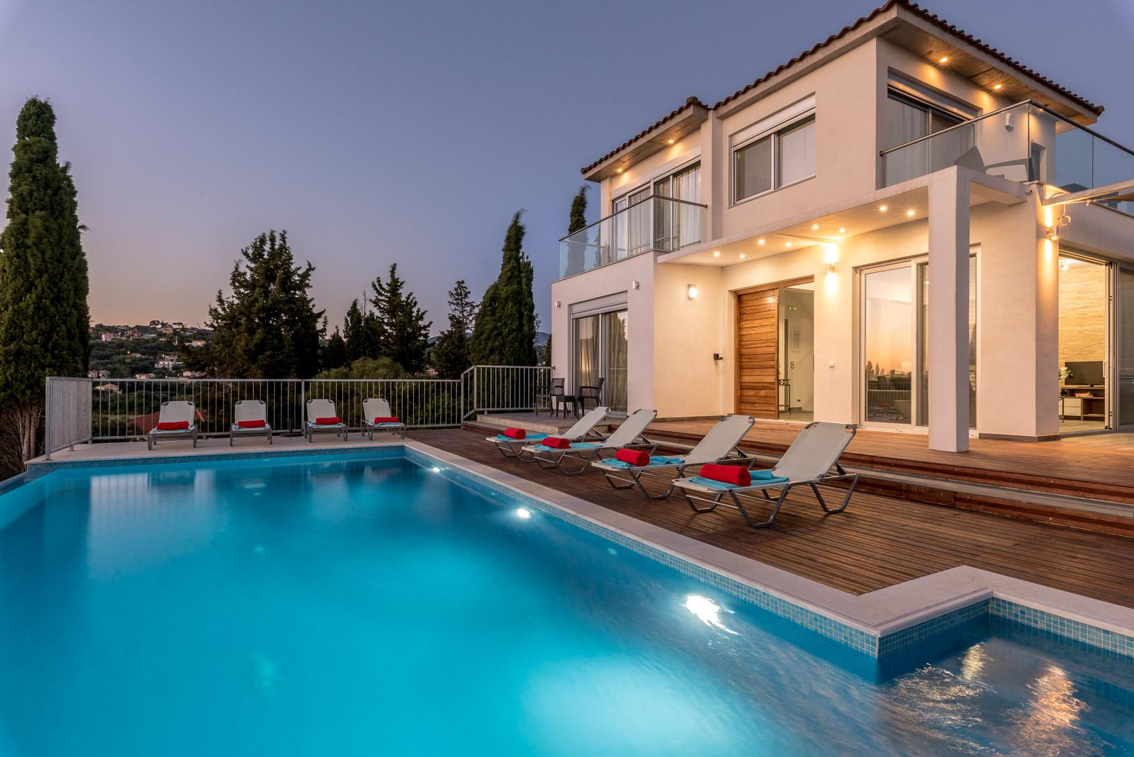 Kefalonia, Villa Plus