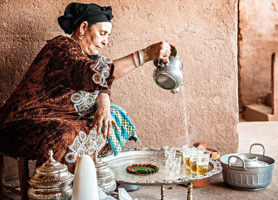 Berber home, Morocco