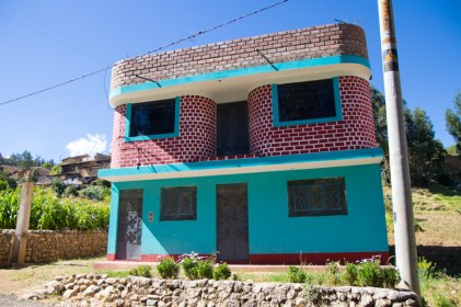 Not the little house on the prarie, but wonderfully colourful