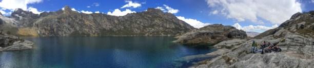 Panorama of Lake Churup
