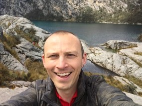 Selfie at Lake Churup