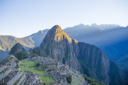 Machu Picchu in the early morning sun - Day 4