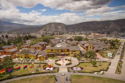Mitad del Mundo from above