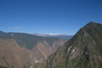 Mountains near and far seen from Machu Picchu - Day 4