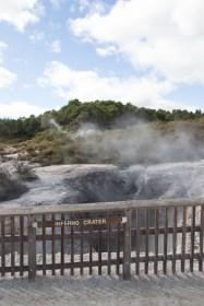 Extreme hyperbole at Wai-O-Tapu Thermal Wonderland