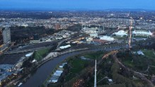 The River Yarra at sunset