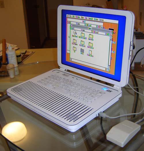 Apple II laptop