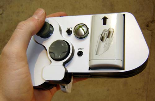 One-handed Xbox 360 controller mod has the upper hand