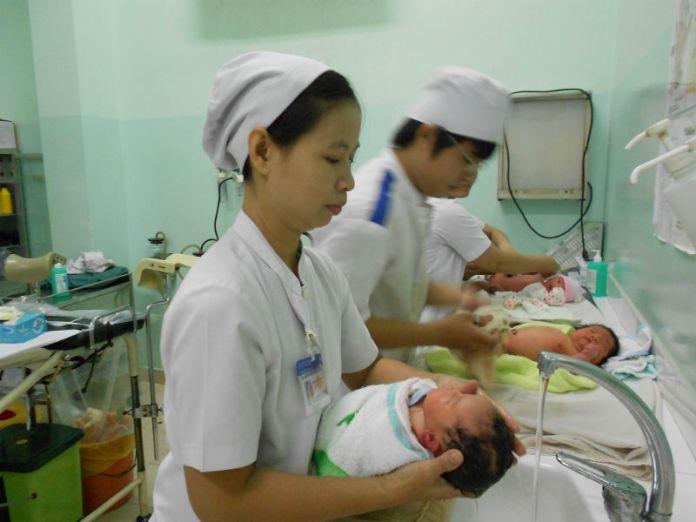 Khoa nhi  - bệnh viện Hùng Vương