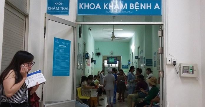 Khu A - bệnh viện Hùng Vương