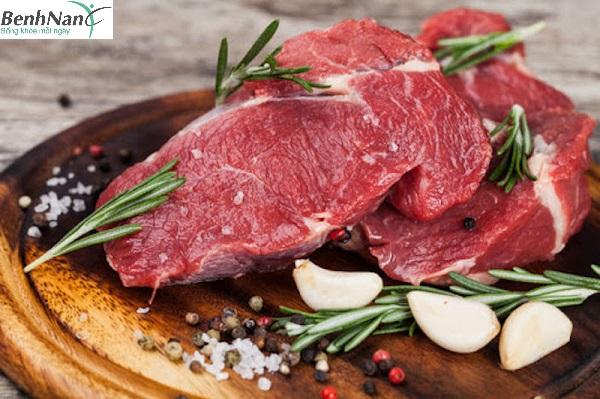 tiểu đường thai kỳ ăn thịt bò được không