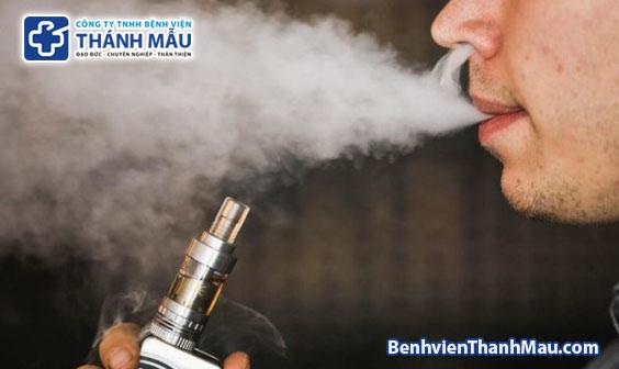 Sẽ đề xuất cấm sử dụng thuốc lá điện tử nhằm bảo vệ sức khoẻ người dân de xuat cam cac san pham thuoc la dien tu