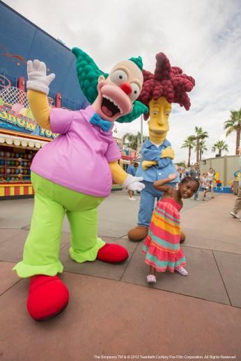 Krusty y el secundario Bob
