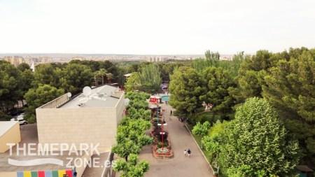 Vistas de la avenida principal desde la Noria