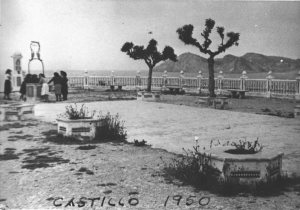 El Castillo in 1950
