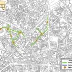 Overzicht van de groene zones in Benidorm