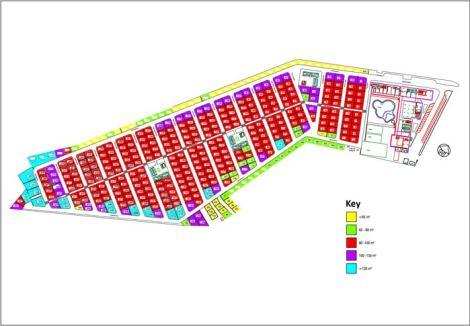 Camping Almafra Campsite Site Map
