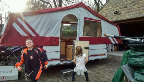 trailer tents in spain