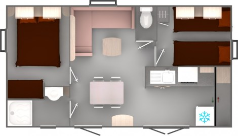 Trigano Evolution 29 Floorplan
