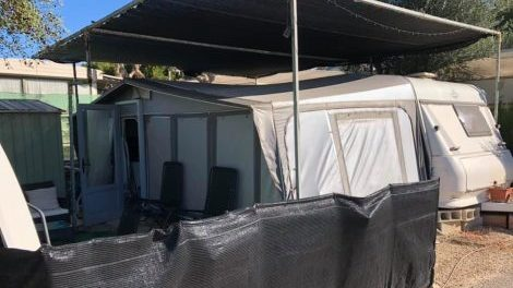 Preowned touring caravan for sale in Benidorm