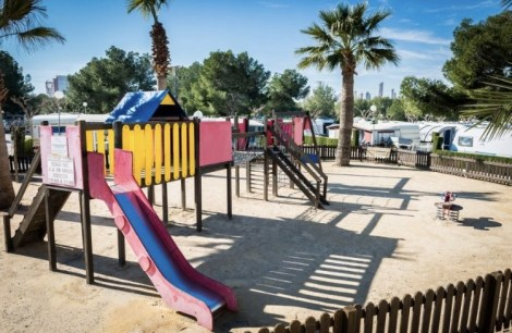 Cildren´s Park on Camping Raco