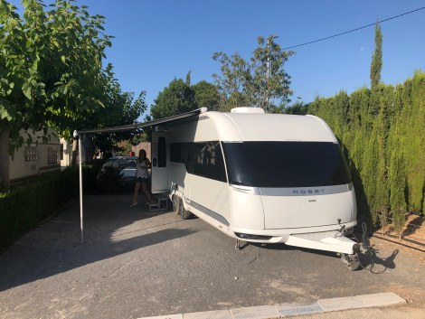 Hobby Caravan In Benidrom