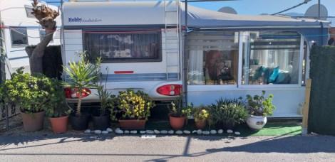 Touring caravan for sale on Camping Benisol campsite in Benidorm