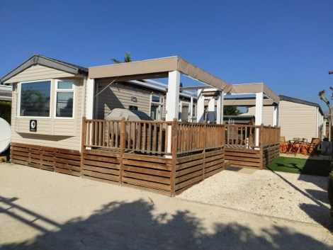 Swift Loire mobile home for sale on Camping Almafra Campsite in Benidorm