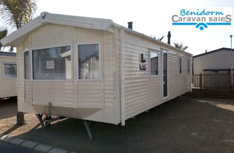 Willerby Rio Gold mobile home for sale on Camping almafra campsite in Benidorm