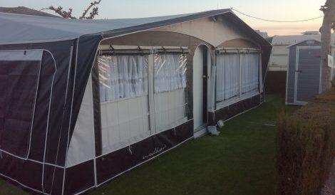 A touring caravan for sale in Benidorm