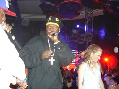 50 cent at the barmitzvah