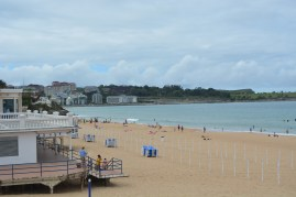 Playa. El Sardinero. Santander.