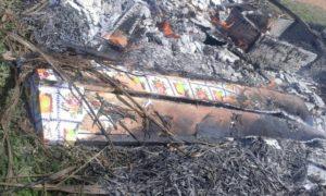 Cercueils des autorités brûlés par population en colère à Kithevya après massacre du 31/10/2016