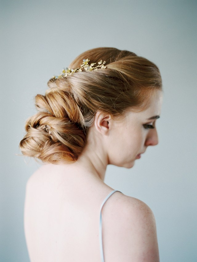 romantic bridal hairstyles for the fine art wedding