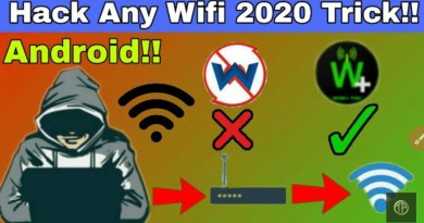 Hack any WiFi password and MAC address