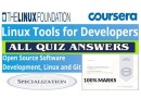 Linux Tools for Developers | All Quiz Answers | Coursera | The Linux Foundation