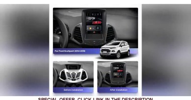 ☘️ 4G Lte  Vertical screen android 10.0 system multimedia video radio player for ford Ecosport 2014