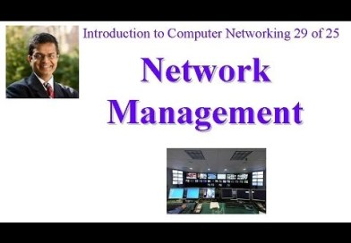 CSE473-11-9: Introduction to Network Management