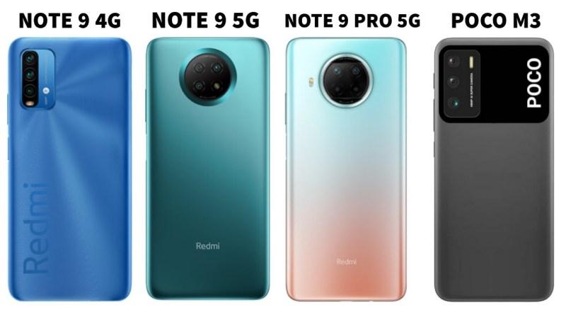 Redmi Note 9 5g Vs Redmi Note 9 Pro 5g Archives Benisnous