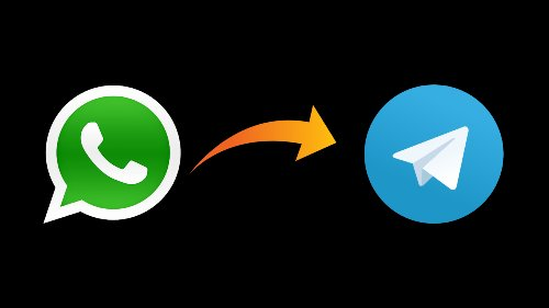 WhatsApp group chats to Telegram