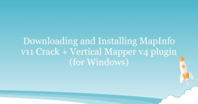 Downloading and Installing MapInfo v11 Crack + Vertical Mapper v4 plugin (for Windows)
