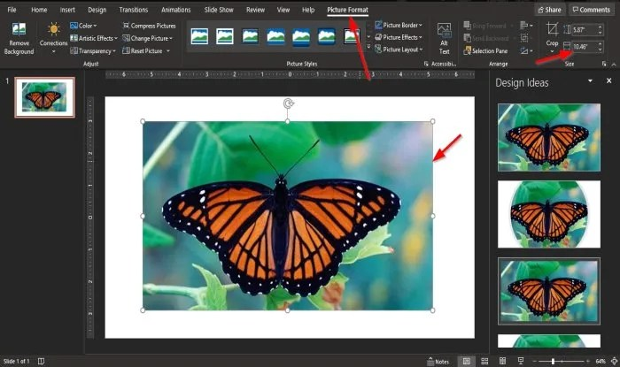 How to split a Picture into pieces in PowerPoint