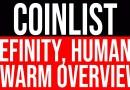 हिंदी में Coinlist IEO : Efinity, Human, Swarm Overview